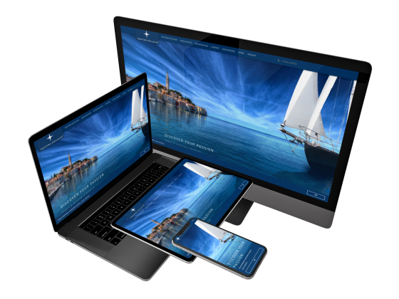 webdesign yachting exclusive